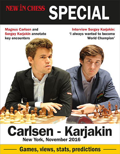 New in Chess Carlsen-Karjakin Match Special